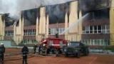 Во Львове частично сгорела учебно-спортивная база