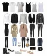 Гардероб - это совокупность имеющейся у человека в наличии одежды. Базовый гардероб женщины